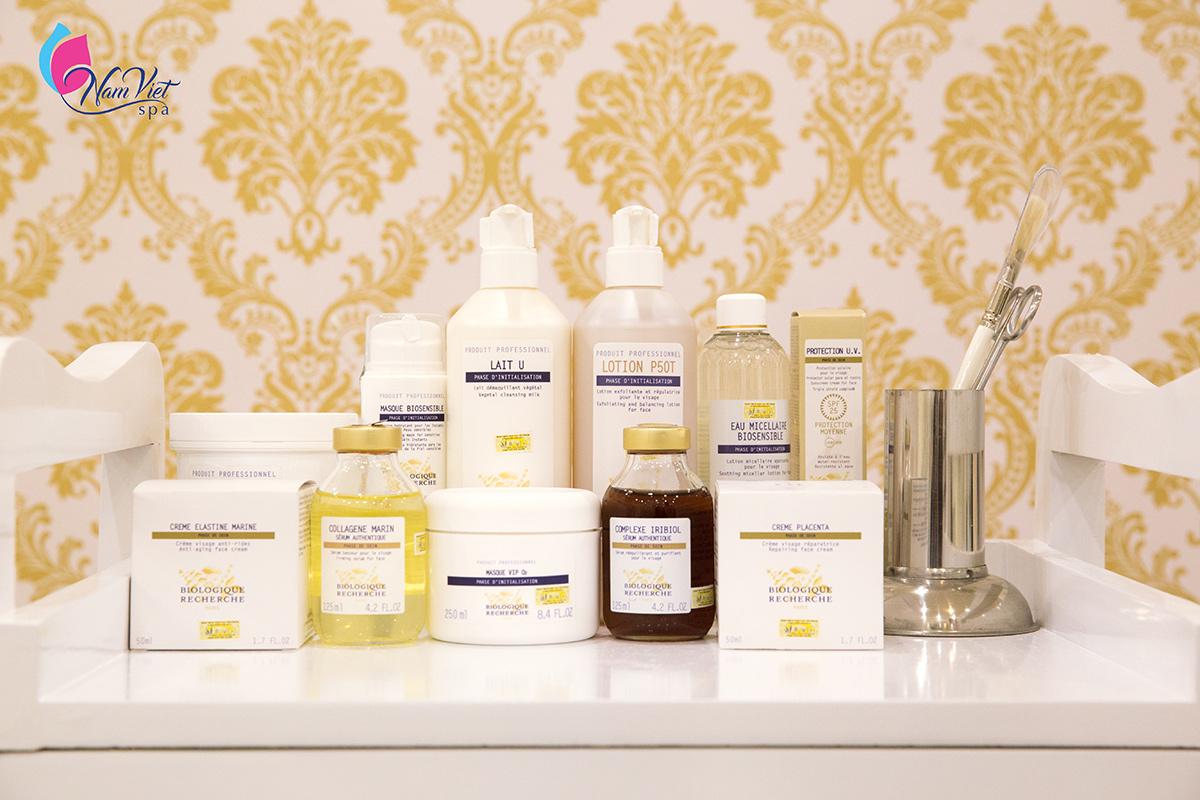 Trị liệu đặc biệt cho da nhạy cảm (sau laser), tái tạo bề mặt da